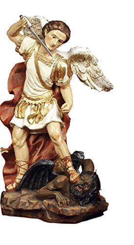 artículos religiosos de paben Estatua San Miguel arcángel de Resina