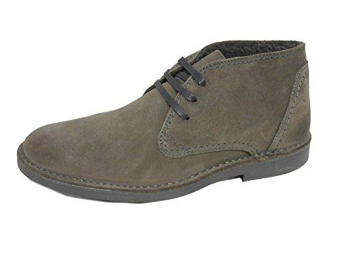 Selected Royce Warm Boot H Grey 16045937 Scarpa Scamosciata Imbottita Invernale