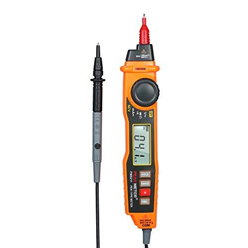 KKmoon Multimeter Digital Multimeter DC/AC-Spannung Strommesser mit NCV und Durchgangsprüfer für Widerstandsdiode mit automatischer Bereichswahl Hintergrundbeleuchtung LCD Display