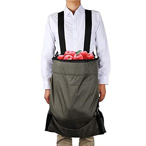 Tablier de cueillette de Fruits, Sac de cueillette de récolte Sac de Rangement de Tablier de cueillette de Jardin en Tissu Oxford imperméable pour Fruits