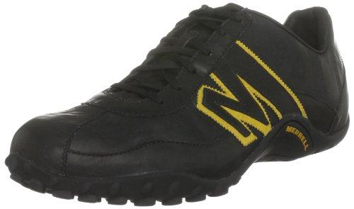 Merrell Sprint Blast, Zapatillas para Hombre, Negro (Black/Nugget Gold), 41 EU