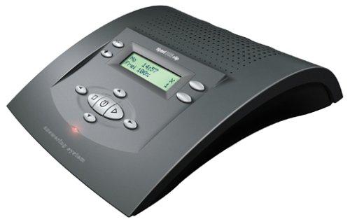 Tiptel 308 clip anthrazit nova Komfort-Anrufbeantworter mit Rufnummernanzeige