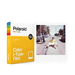 UPDATED CLASSIC: The classic film is back with a new formula exclusively for I-Type cameras. It uses Polaroid's latest chemistry to provide richer colors, tones, and contrasts. I-Type film is not compatible with vintage Polaroid cameras. LIGHT IT UP:...