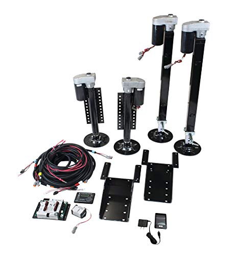 Lippert Ground Control 3.0 Aftermarket Kit - 4-Point with Wireless Remote (358590)