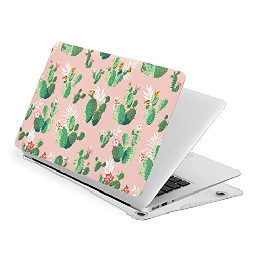 Vintage Cactus Flower MacBook New Air 13 inch Case (A1932 & A2179) Laptop Cover Hard Shell Protective Case