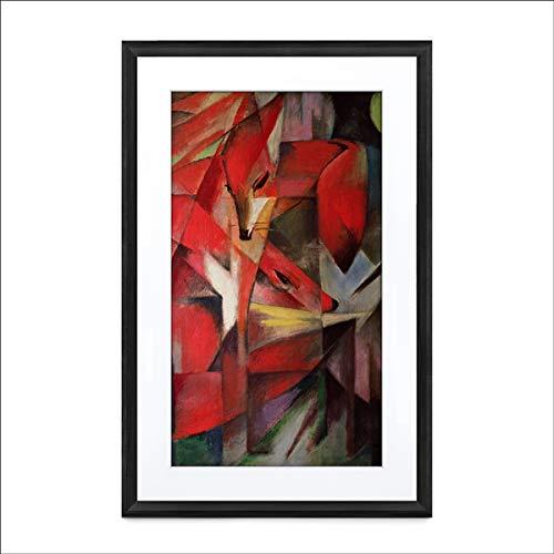 Meural Canvas II MC321BL - Marco artístico inteligente para cargar fotos digitales (16 x 24, HD, 21.5