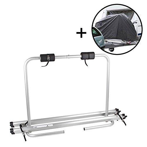 OVK–Portabicicletas Beautissu Set Incluye bicicleta eje funda para 2bicicletas plegable, 4,6kg,, Capacidad...