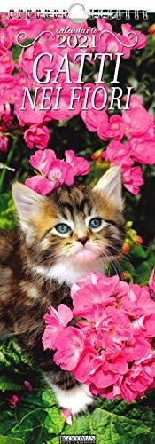 Gatti nei fiori. Calendario 2021