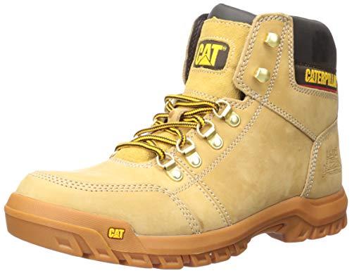 Caterpillar Men's Outline Work Boot, Honey, 9 M US