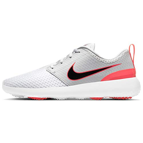 Nike Roshe G, Zapatos de Golf Unisex Adulto, White/Black-Neutral Grey-Infrared, 41 EU