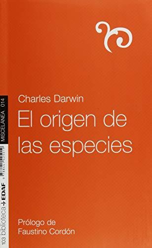 Origen De Las Especies, El. (Nueva Biblioteca Edaf)