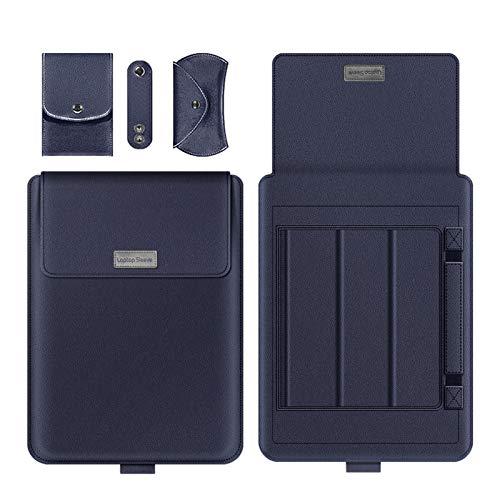 GYY Funda De Manga del Portátil para MacBook Air Pro 13 15 Bolsa De Manga Portátil para Huawei ASUS HP DELL 11 12 13.3 14 15.6 Pulgada Funda (Color : Dark Blue, Size : For 11 12 Inch)