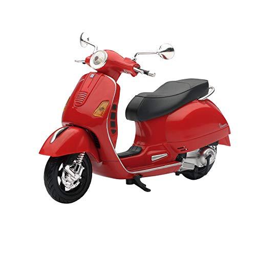 Art DÉCO Home Vespa GTS 300 Mini Rouge échelle 1 : 12 15 x 6 x 10 cm