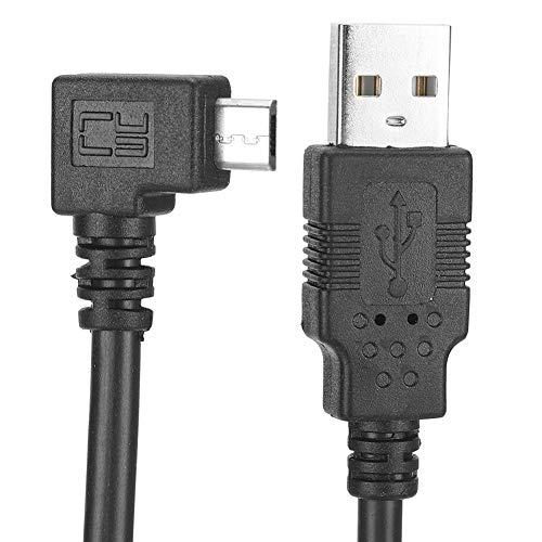 Weikeya Micro USB, Micro Cargador Cable Datos Sincronizar Cobre Grado Ángulo por USB Cable