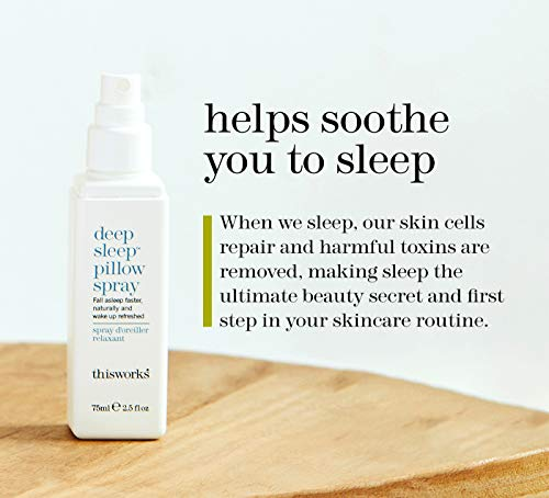 This Works Deep Sleep Pillow Spray: Natural Sleep Aid, 75ml | 2.5 fl oz