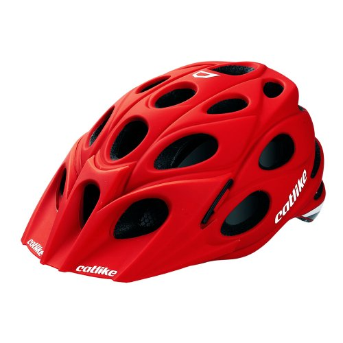 Catlike Leaf - Casco de ciclismo, color rojo mate, talla MD (54-57...