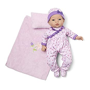 Madame Alexander 16  Lavender Baby Doll Sleeper Set Light Skin