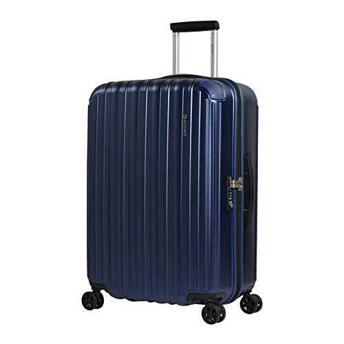 Eminent Maleta Mediana Move Air Neo 69 cm 85 L Maleta de Viaje Ligera Protección Adicional en Las Esquinas y Superficie Anti rasguños Azul
