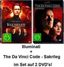 Dan Brown Set - Illuminati & The Da Vinci Code - Sakrileg im Set - Deutsche Originalware [2 DVDs]