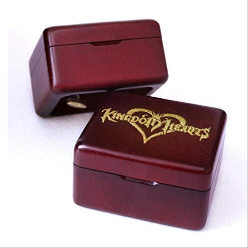 Handgemachte Hölzerne Kingdom Heart Spieluhr, Geburtstagsgeschenk Für Weihnachten Valentinstag Besondere Geschenke Für Liebhaber, Kinder