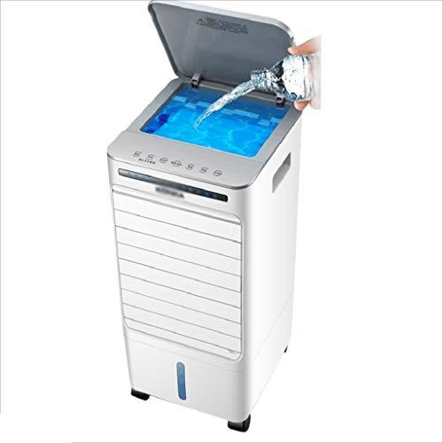 Klimaanlage Luftkühler Tragbarer Luftkühler Für Zu Hause Mobile Kleine Standklimaanlage Mit Fernbedienung (Color : Weiß, Size : 26 * 24 * 56cm)
