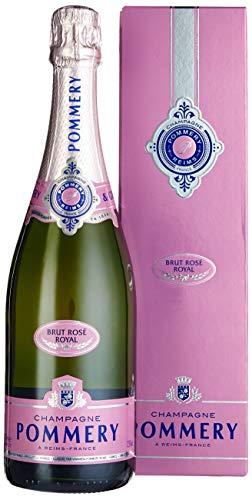 Pommery Brut Rose Champagner mit Geschenkverpackung (1 x 0,75 l)