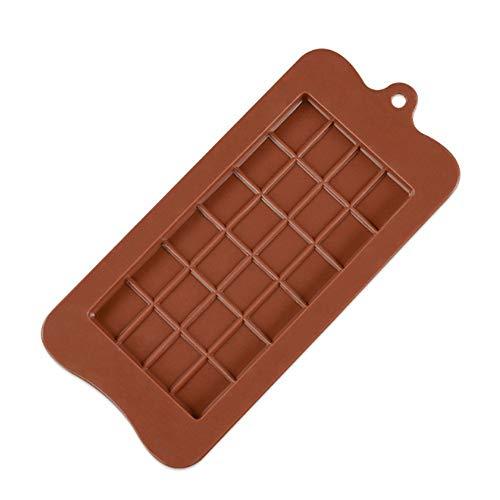 Chocolade Mallen Bakwaren Taartvormen Hoge Kwaliteit Vierkant Milieuvriendelijke Siliconen Siliconen Mold DIY 1Pc Voedsel Grade 24 Cavity Als afbeelding