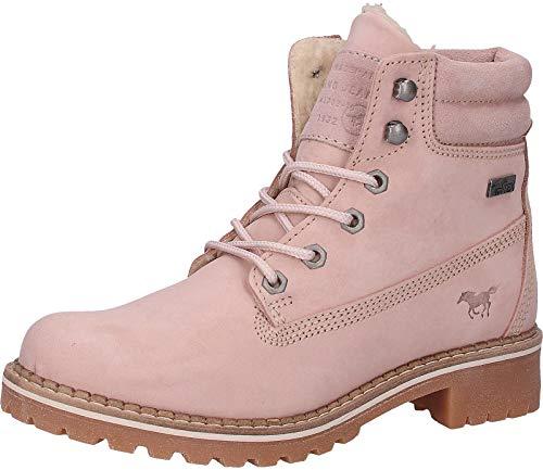 MUSTANG Shoes 2837-604-318 Bottes grandes pour femme Beige - Rose - Rose, 43 EU