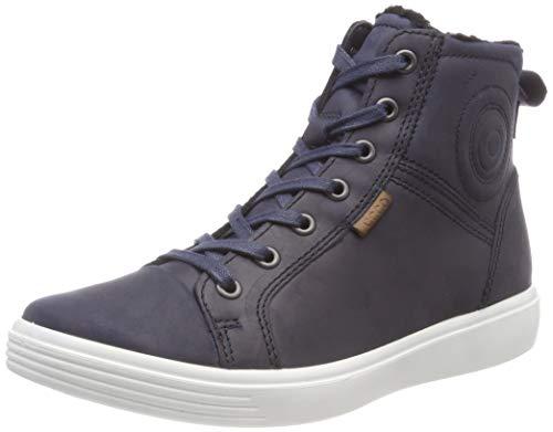 ECCO S7, Sneaker a Collo Alto Unisex-Bambini, Blu (Night Sky 2303), 33 EU