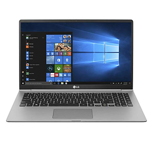 "LG gram Laptop - 15.6"" Full HD Touchscreen, Intel 8th Gen Core i7, 16GB RAM, 1TB (2 x 512GB SSD), 18.5 hrs Battery, Thunderbolt 3 - 15Z990-R.AAS9U1 (2019), Dark Silver"