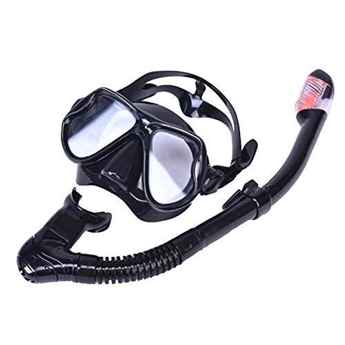 eamqrkt Adult Swimming Snorkel Mask Anti-Fog Wide View Scuba Diving Mask