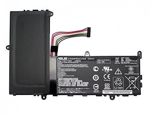 ASUS C21N1414 Lithium Polymère (LiPo) 5000mAh 7.6V Batterie Rechargeable - Batteries Rechargeables (5000 mAh, 38 Wh, Lithium Polymère (LiPo), 7,6 V, Noir)