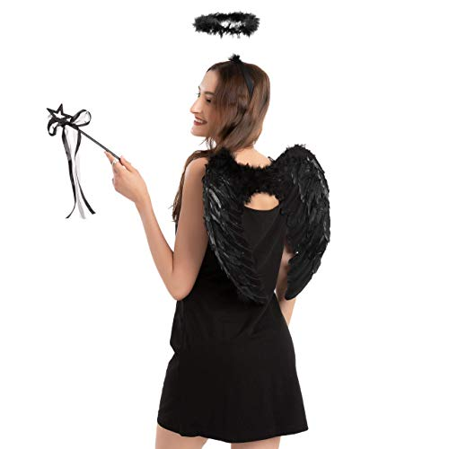 Black Angel Accessories Set with