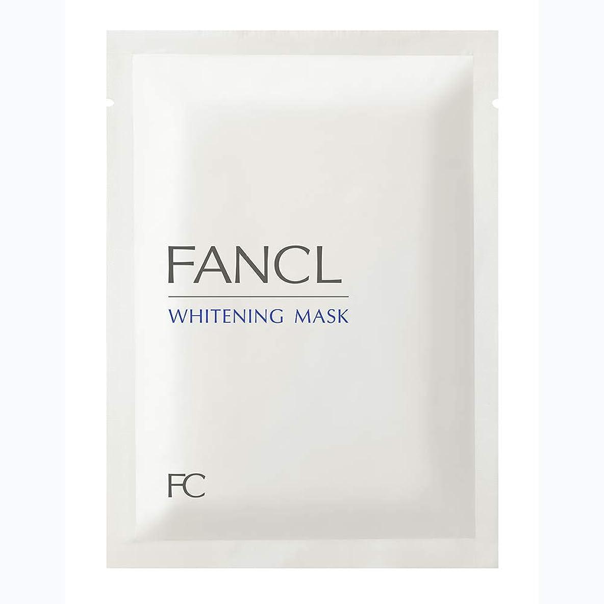 墓平方罪悪感新ファンケル(FANCL) ホワイトニング マスク<医薬部外品> 21mL×6枚
