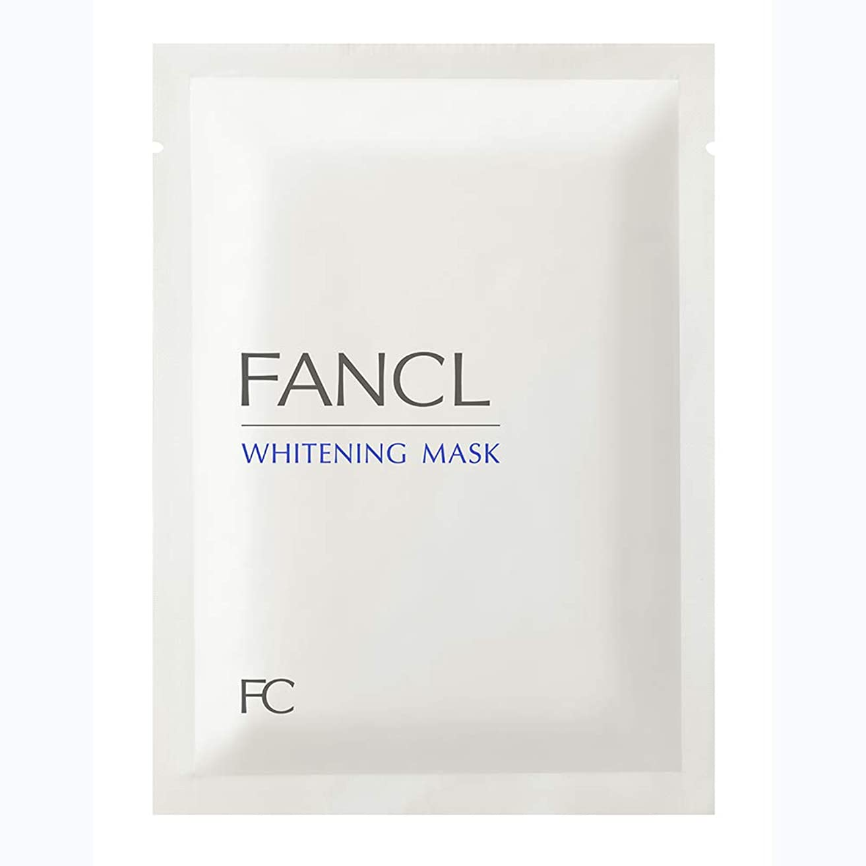 性交バタフライすでに新ファンケル(FANCL) ホワイトニング マスク<医薬部外品> 21mL×6枚