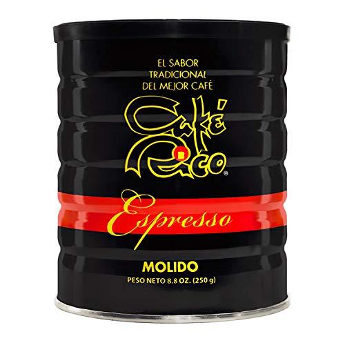 Cafe Rico Espresso Coffee beans 8.8 oz unds Can