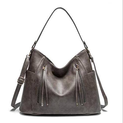 ASDFGH Handtassen voor dames, schoudertas van PU-leer, topgreep, handtas voor dames