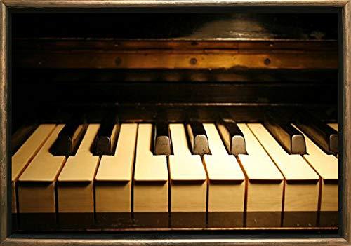 Luxe Omlijst Art Bronzen Piano Dual View Surprise Muziek Collectie Medium BRON