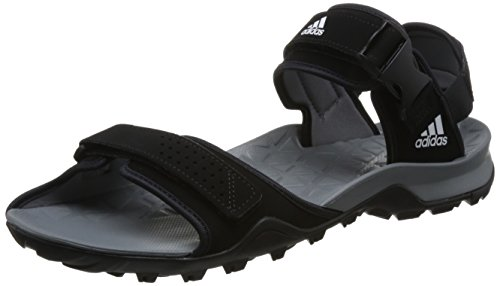adidas Herren Cyprex Ultra Sandal II Outdoor-Sportschuhe, Negro Gris Blanco Negbas Grivis Ftwbla, 43 1/3 EU