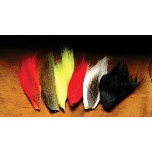 1 Pack Hareline Dubbin Krystal Flash Fly//Teaser Tying Material BLACK