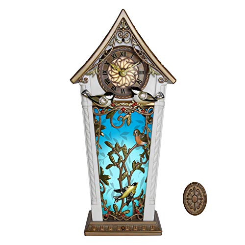 Hallmark Keepsake 2020, The Beauty of Birds Musical Cuckoo Clock Christmas Decoration With Motion and Light