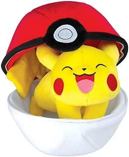 Best pokeball pikachu plush Reviews