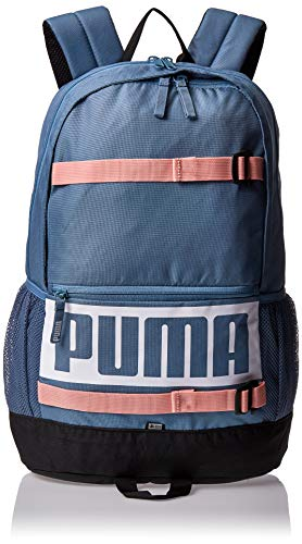 PUMA Unisex– Erwachsene Deck Backpack Rucksack, Bluestone, OSFA