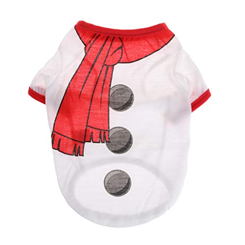 LANDUM Disfraz de Mascota de Navidad Ropa de Navidad para Mascotas Camisa para Mascotas Chaqueta Ropa de Navidad...