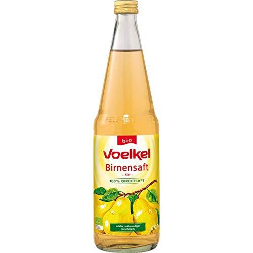 Voelkel Bio Birnensaft, klar - 100% Direktsaft (6 x 700 ml)