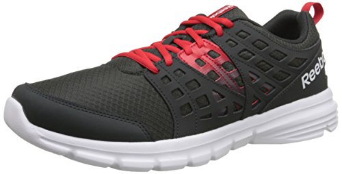 Reebok Men's Speed Rise-m, Black/Matte Silver/White, 11 M US