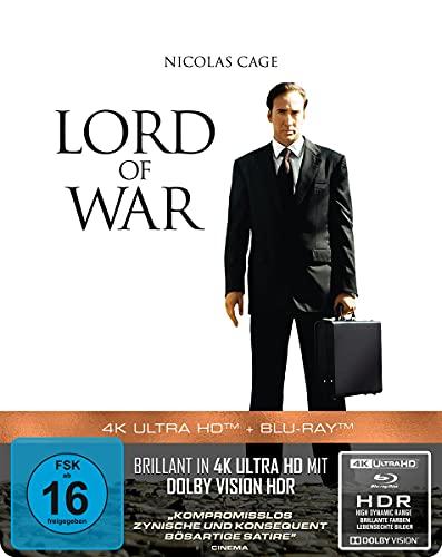 Lord of War - Händler des Todes - 2-Disc Steelbook (4K Ultra HD) (+ Blu-ray 2D)