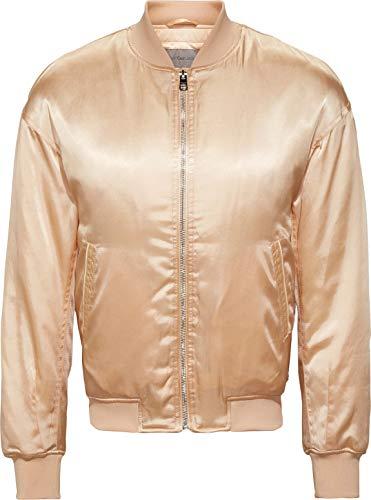 Calvin Klein Jeans Okki LW Padded Bomber Chaqueta, Crema bronceada, L para Mujer