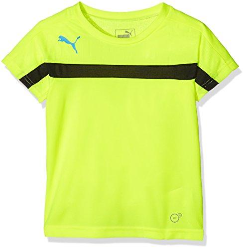 PUMA Kinder T-Shirt IT evoTRG Training Tee, Safety Yellow-Black, 176