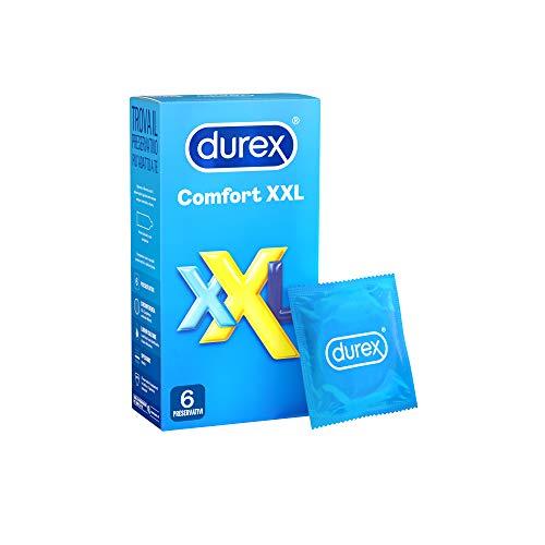 Durex Comfort XXL Kondome Extra Large 6 Kondome